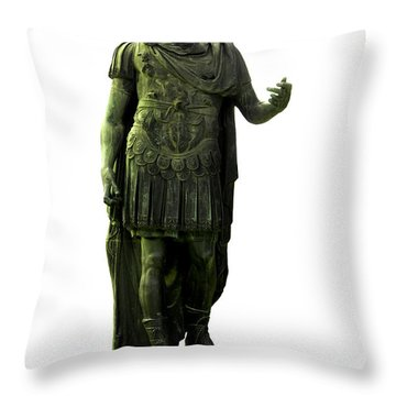 Dictator Julius Caesar Throw Pillow