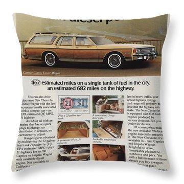 Diesel Power Throw Pillow