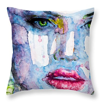 Different Is Inspiring Throw Pillow by Laur Iduc