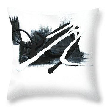 Dig 2 Throw Pillow