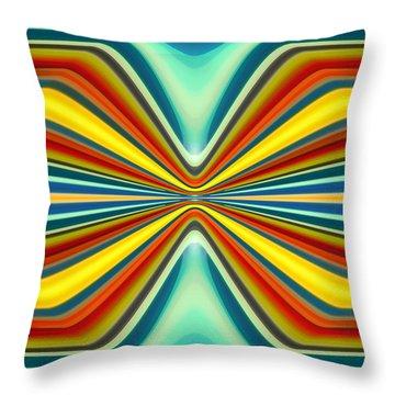 Digital Art Pattern 8 Throw Pillow by Amy Vangsgard