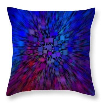 Digital Universe Throw Pillow