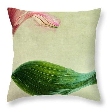 dim colours II Throw Pillow by Priska Wettstein