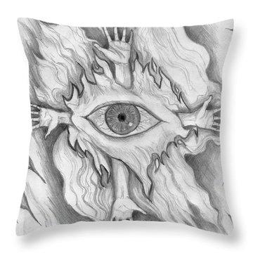 Dimension 4 Throw Pillow