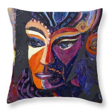 Dimensions  Throw Pillow by Avonelle Kelsey