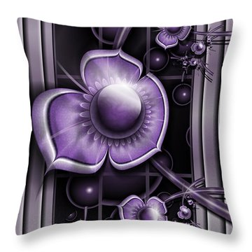 Dimensions Of Purple Throw Pillow