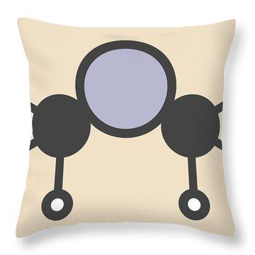 Toxin Throw Pillows