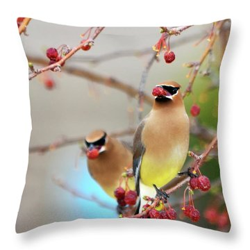 Dinner Date Throw Pillow