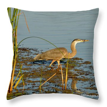 Dinner Throw Pillow