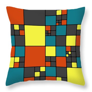 Dio - 55-01a Throw Pillow by Variance Collections