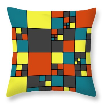 Dio - 56a Throw Pillow by Variance Collections