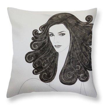 Direct Throw Pillow