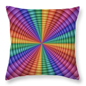 Directrix Throw Pillow
