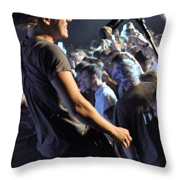 Disciple-micah-8840 Throw Pillow by Gary Gingrich Galleries