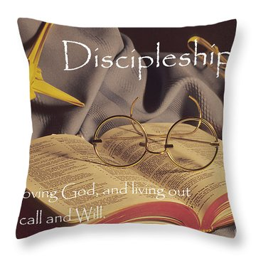 Discipleship Throw Pillow