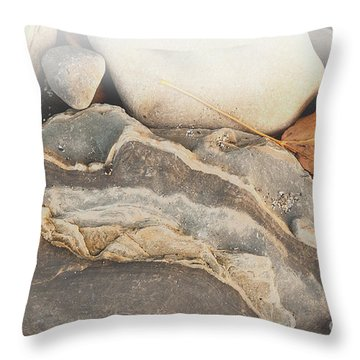 Throw Pillow featuring the photograph Discovered Beauty by Lena Wilhite