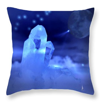 Throw Pillow featuring the photograph Discoveries by Joyce Dickens