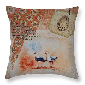 Discovery  Throw Pillow by Tamyra Crossley