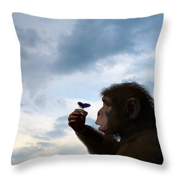 Discovery... Throw Pillow
