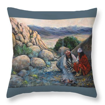 Discussion Throw Pillow
