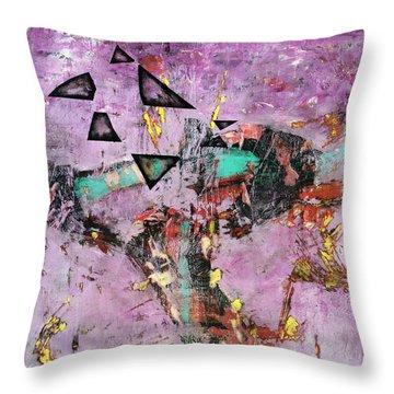 Disfunction Throw Pillow by Antonio Ortiz