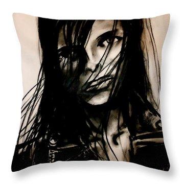 Disheveled Throw Pillow
