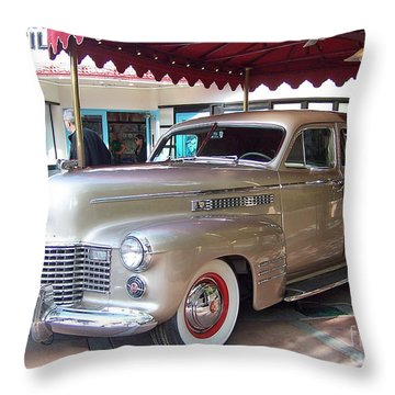Disney Cadillac Throw Pillow