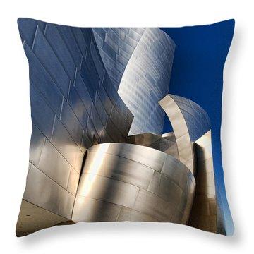Disney Concert Hall Throw Pillow