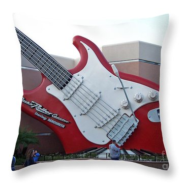 Disney Guitar Throw Pillow