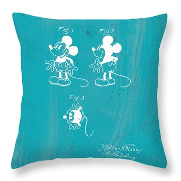 Disney Mickey Mouse Throw Pillow