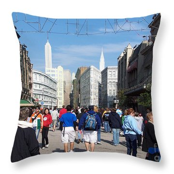 Disney World 1 Throw Pillow