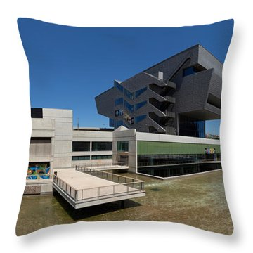 Disseny Hub Barcelona Design Museum Throw Pillow