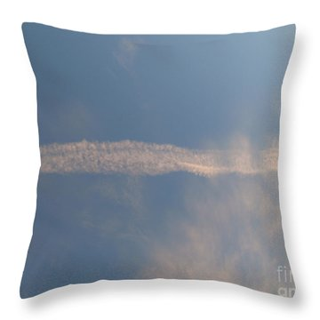 Dissipation  Throw Pillow by Joseph Baril