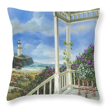 Distant Dreams Throw Pillow by Michael Humphries