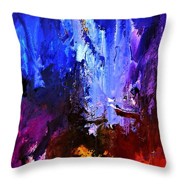 Distant Light Throw Pillow by Kume Bryant