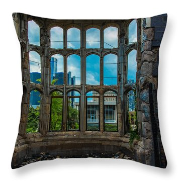 Distant Memory Throw Pillow
