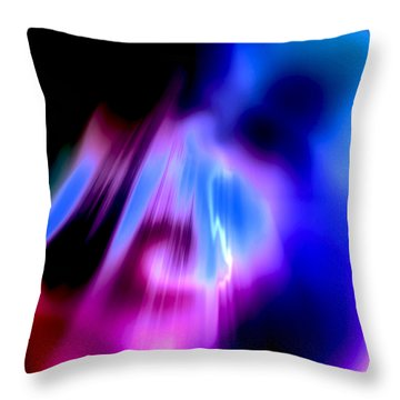Throw Pillow featuring the photograph Distant Thoughts by Kellice Swaggerty
