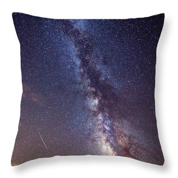 Distant Visitors Throw Pillow
