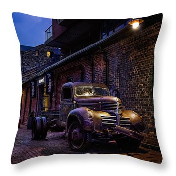Distillery District Toronto Throw Pillow