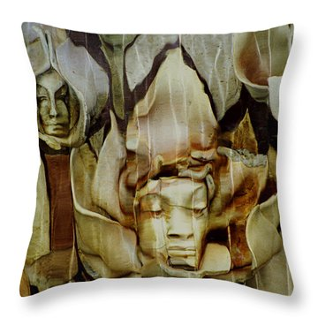 Throw Pillow featuring the photograph Distortion by Penny Lisowski