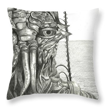 District 9 Throw Pillow