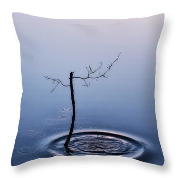 Disturbance Throw Pillow