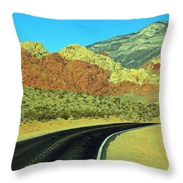 Diversified Landscape Throw Pillow