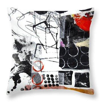 Diversity Throw Pillow by Elena Nosyreva