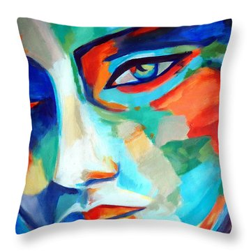 Divine Consciousness Throw Pillow