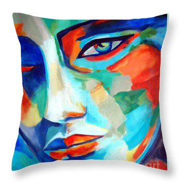 Divine Consciousness Throw Pillow by Helena Wierzbicki