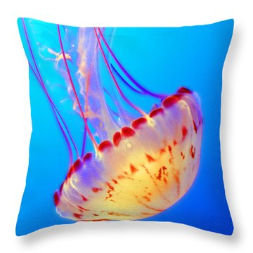 Divine Dancer Throw Pillow
