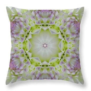 Divine Grace Mandala Throw Pillow