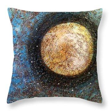 Divine Solitude Throw Pillow by Sharon Cummings