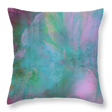 Divine Substance - Abstract Art Throw Pillow